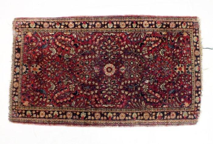 "Oriental rug 46"" x 26"""