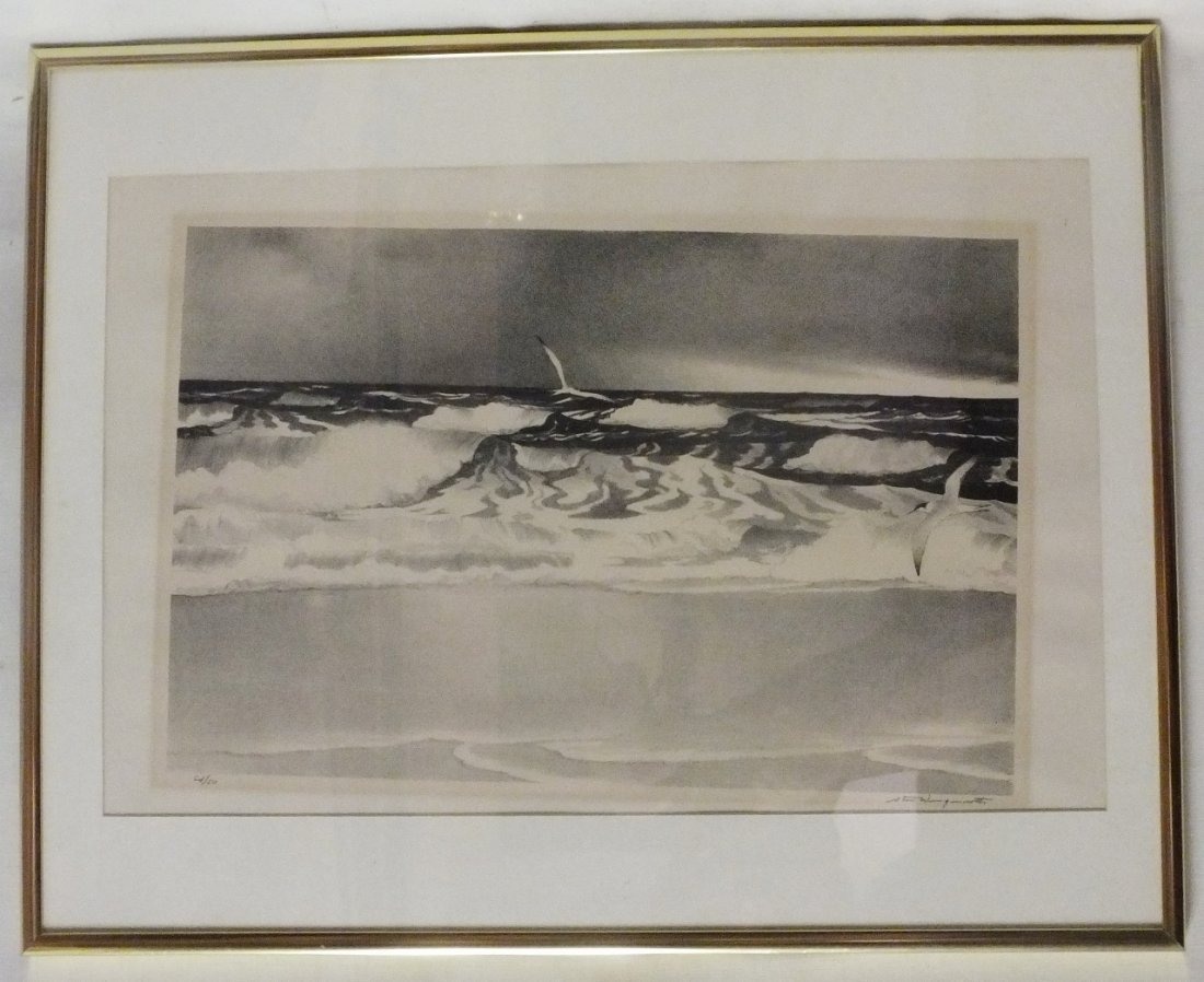 Stow Wengenroth (1906-1978)  Lithograph