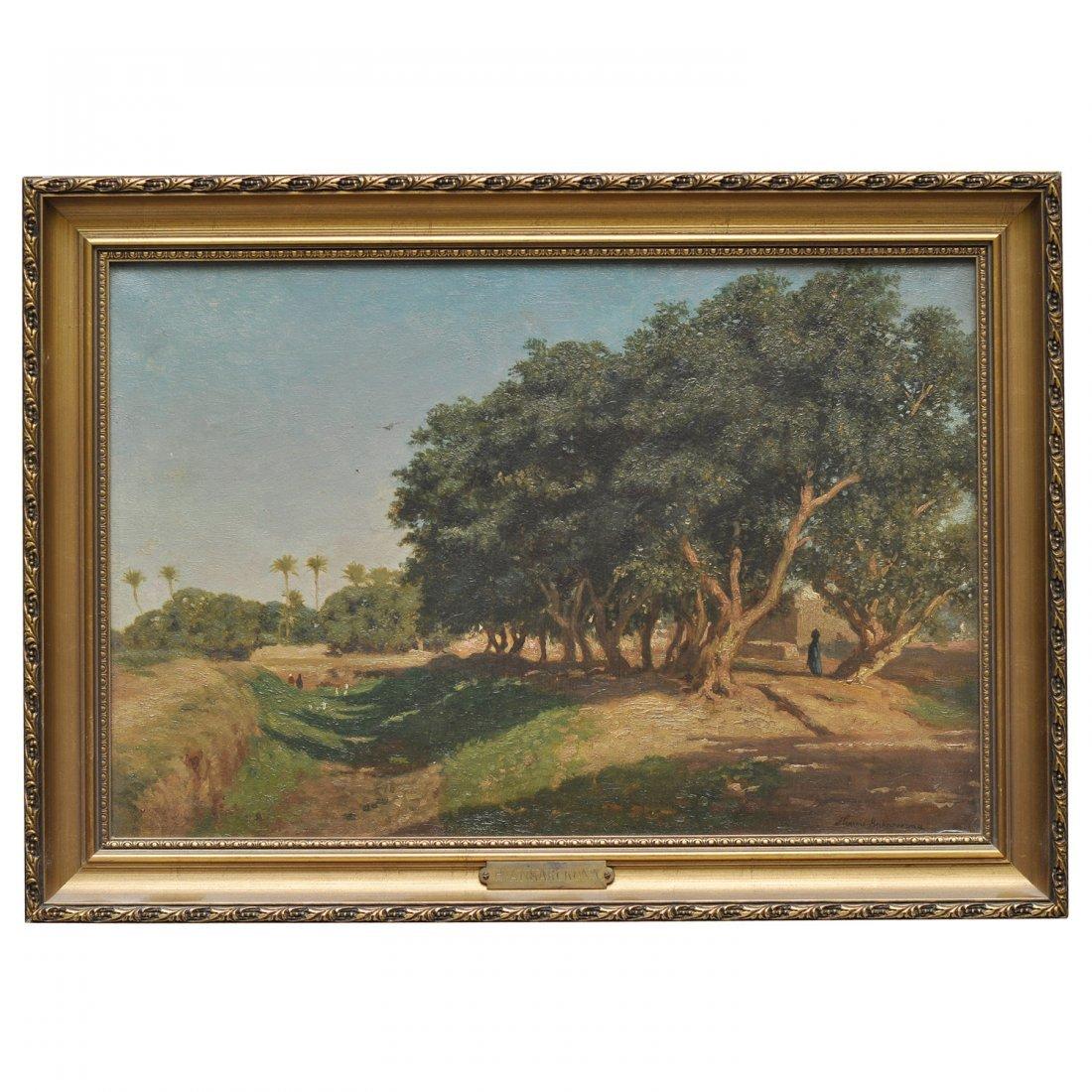 8: HENRIK AUGUST ANKARCRONA (1831-1917), olja på duk
