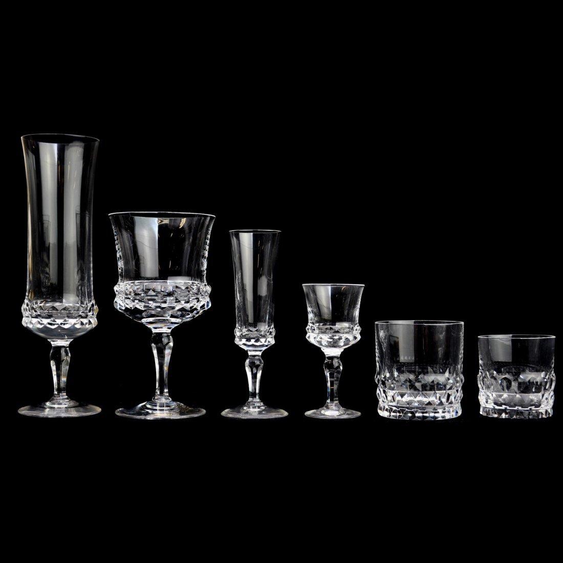 "20: PARTI GLASSERVISDELAR, 60 st, ""Silvia"", INGEBORG LU"