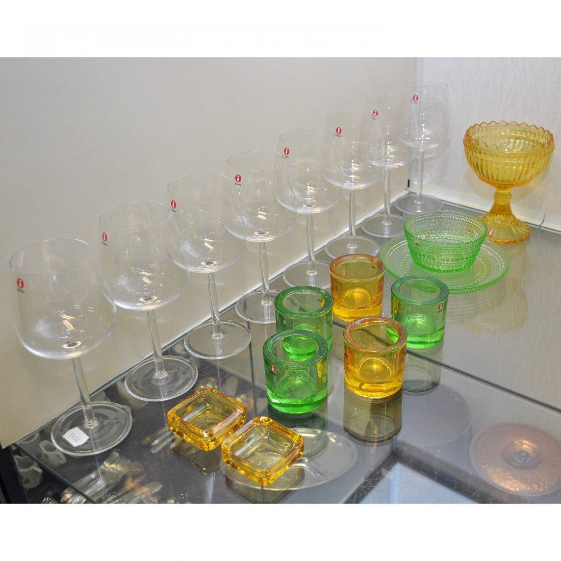 55: PARTI DIVERSE GLAS, 18 st, Iittala