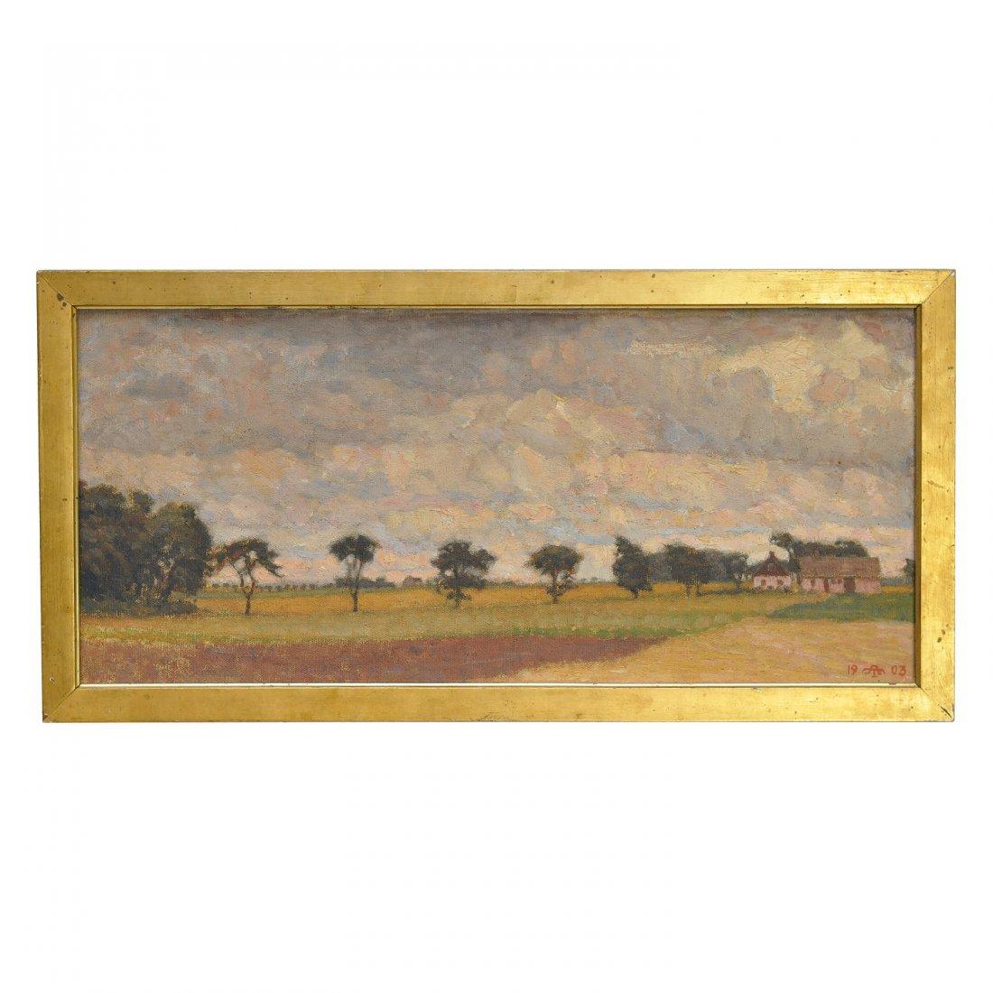 57: ANDERS TRULSON (1874-1911), olja på duk