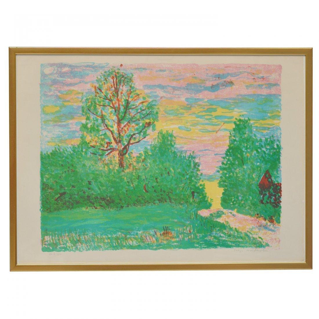 173: THAGE NORDHOLM (1927-1990), färglitografi