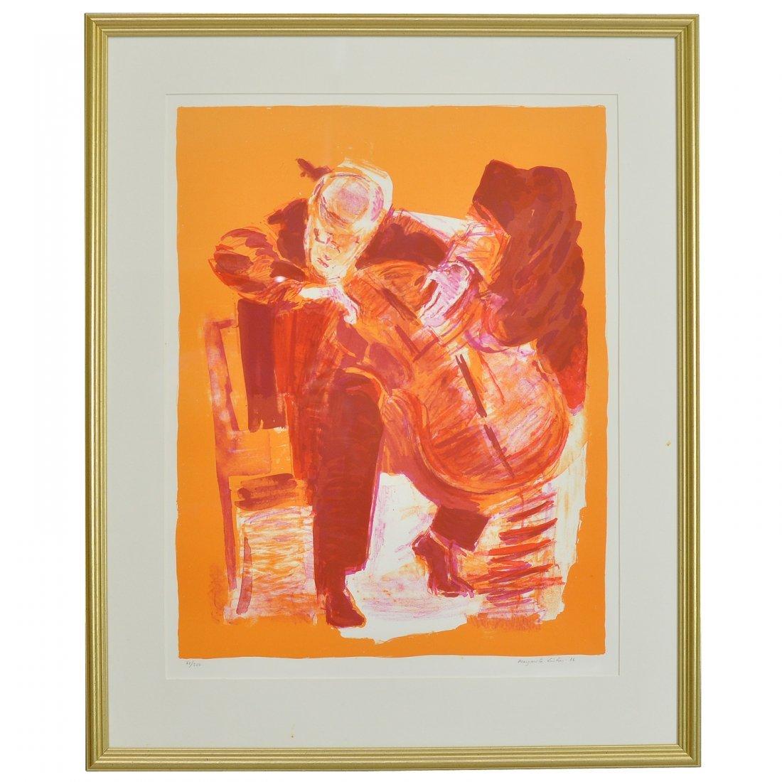 194: MARGARETA LINTON (1931-2011), färglitografi