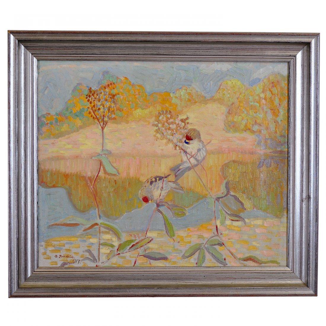 15: TOR OTTO FREDLIN (1890-1955), olja på duk