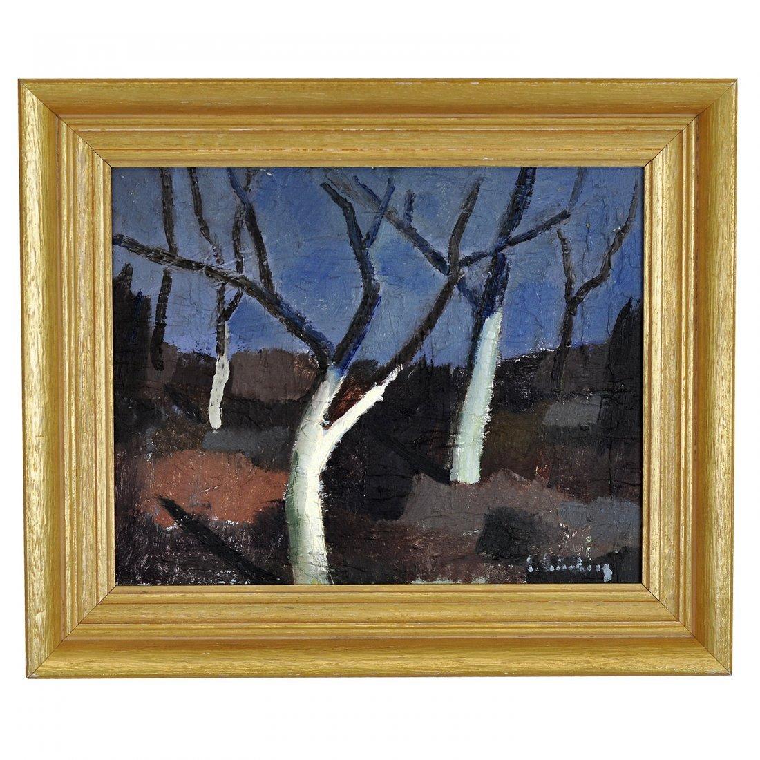 7: ERIC CEDERBERG (1897-1984), olja på pannå