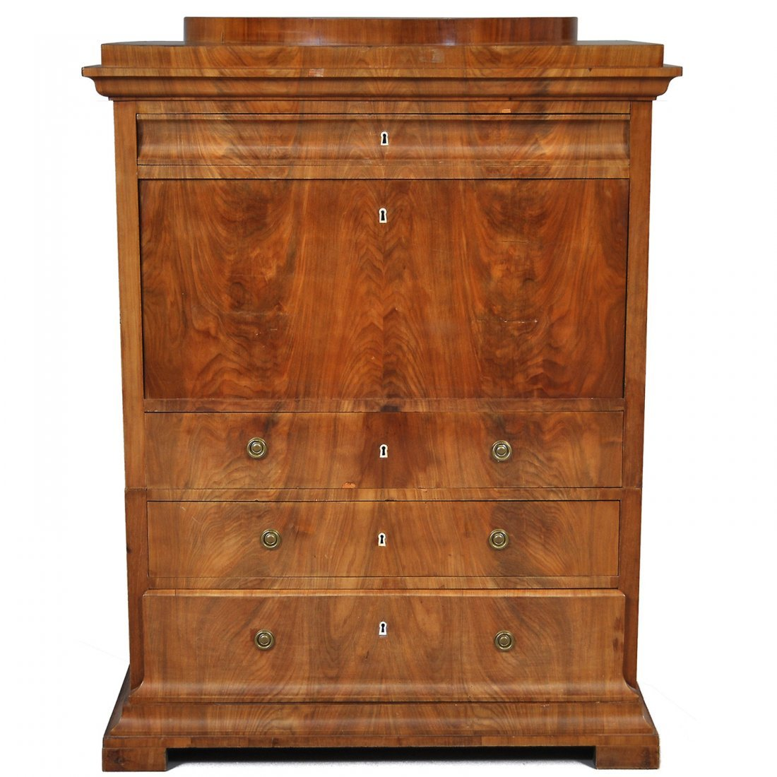 10: CHIFFONJE, mahogny, 1800-tal, empirestil
