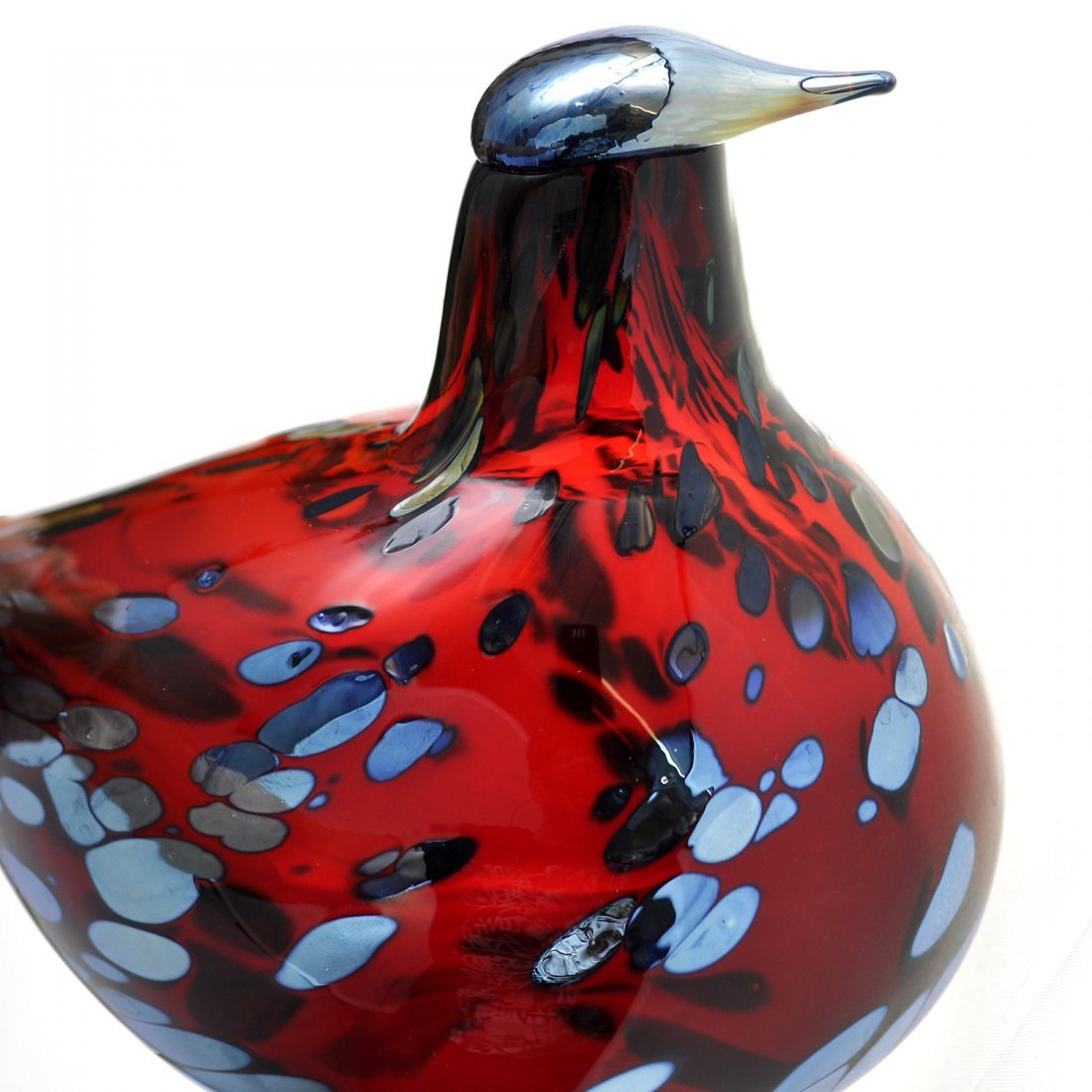 4: FIGURIN, glas, OIVA TOIKKA (1931-), Finland, Nuutajä