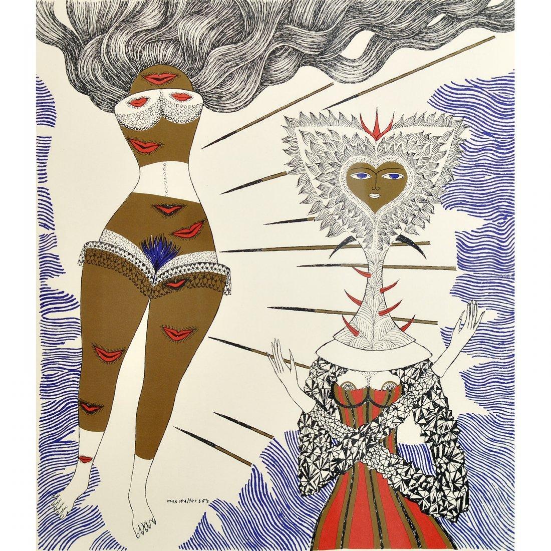 18: MAX WALTER SVANBERG (1912-1994), litografi