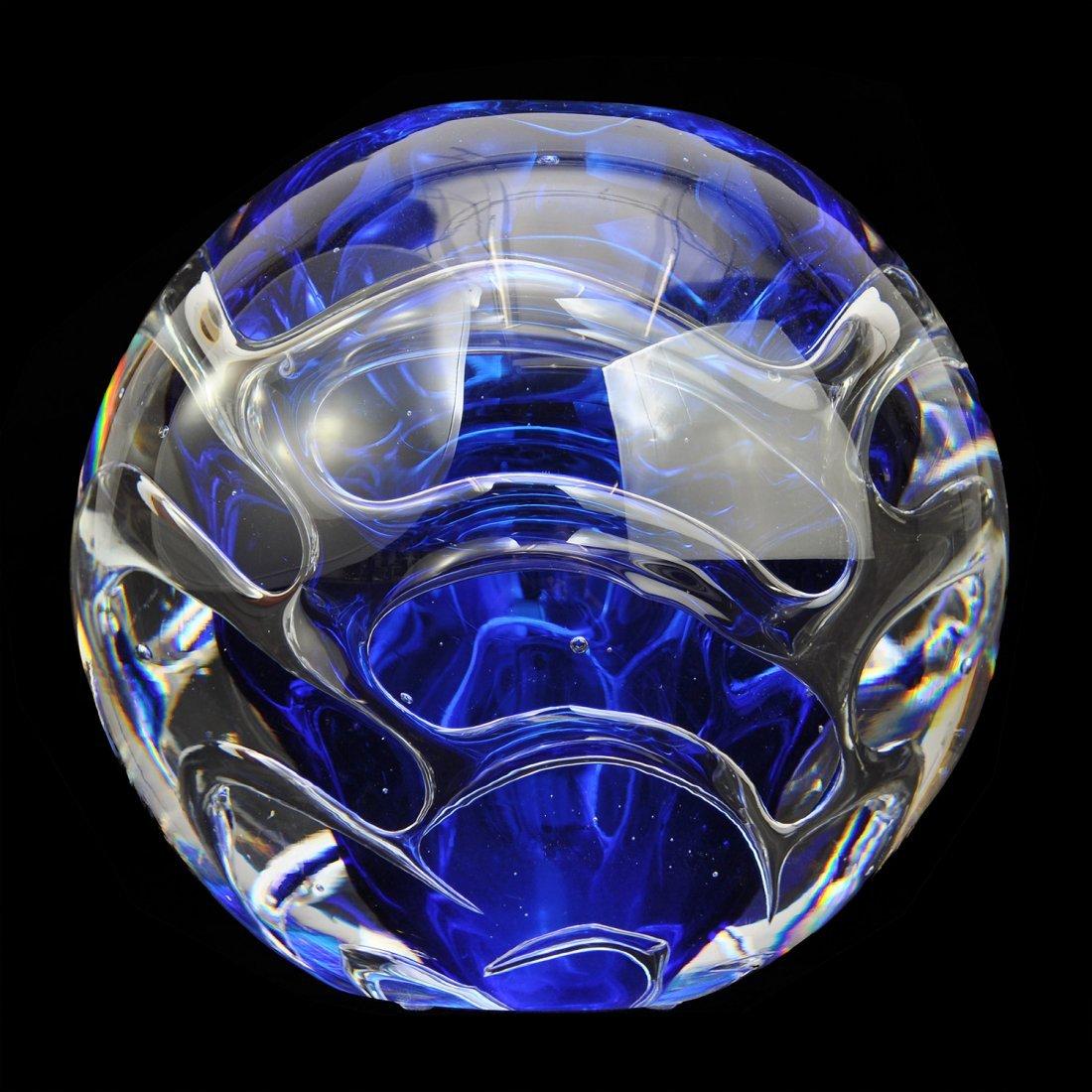 "6: VAS, glas, 2000-tal, ""Blue Wave"", LARS HELLSTEN, Orr"