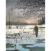 11: REINHOLD LJUNGGREN (1920-2006), färglitografi