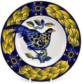 "43: FAT, ""Blue Pheasant"", CHRISTIAN JOACHIM (1870-1943)"