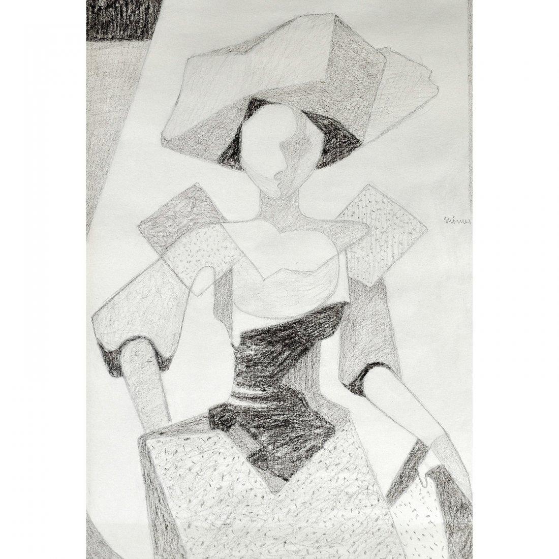 17: STELLAN MÖRNER (1896-1979), skiss