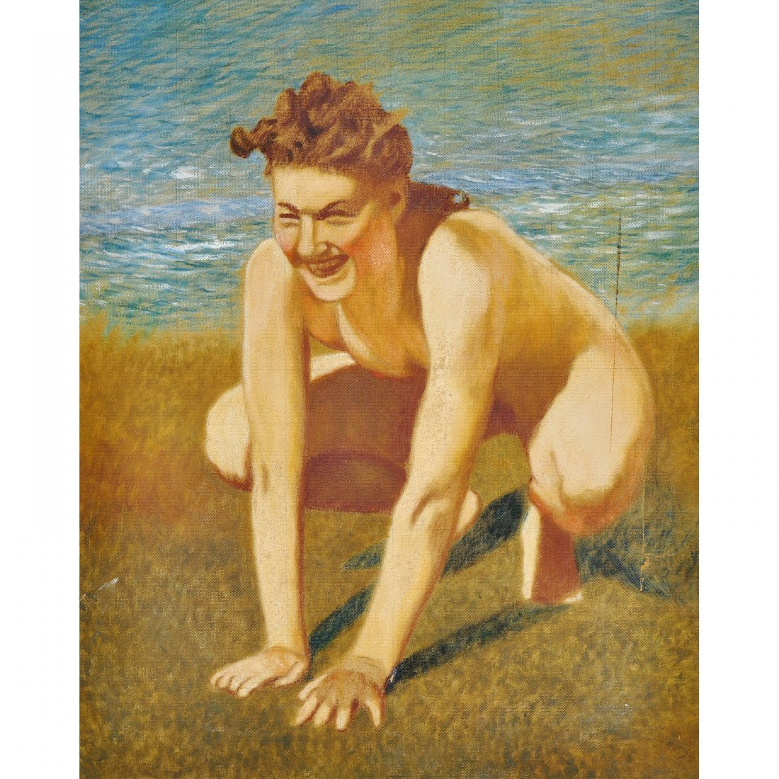 "8: KARL ""XYLOGRAFEN"" ANDERSSON (1853-1942), olja på pan"