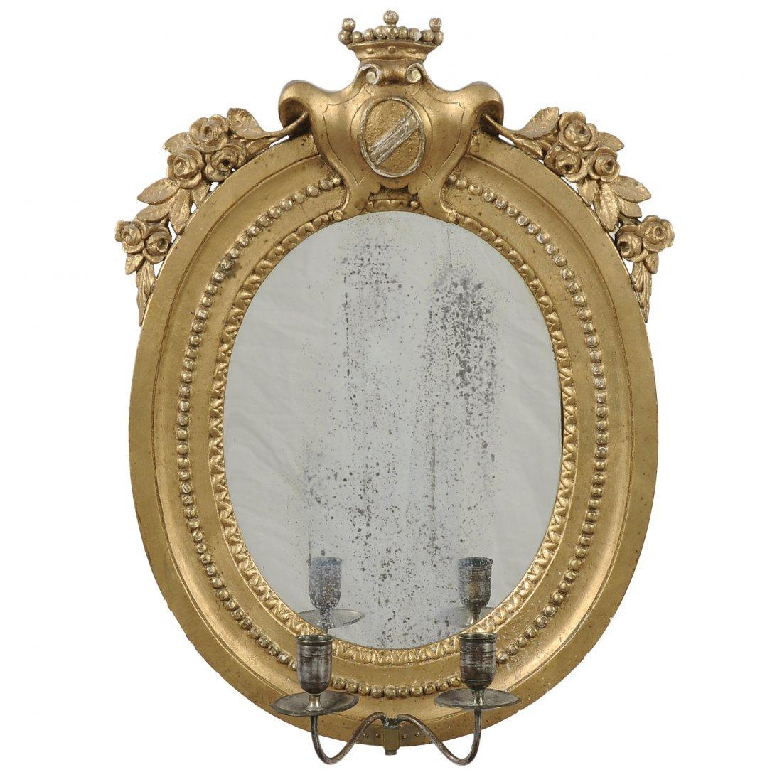 SPEGELLAMPETT, 1800-tal, gustaviansk