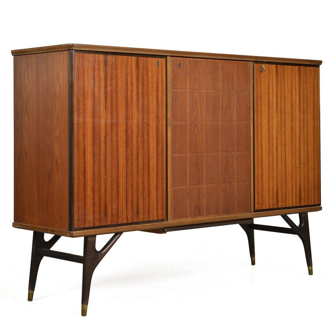 SIDEBOARD, teak, retro 1950/60-tal, tillskriven Tabergs