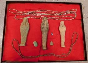 Large Collection of Egyptian Artifacts