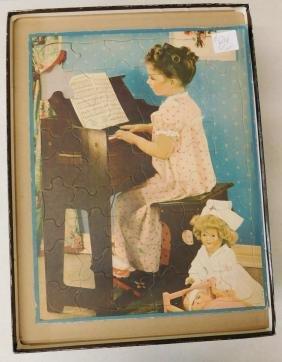 5 Antique Childrens Puzzles
