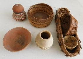 8 Native American Baskets