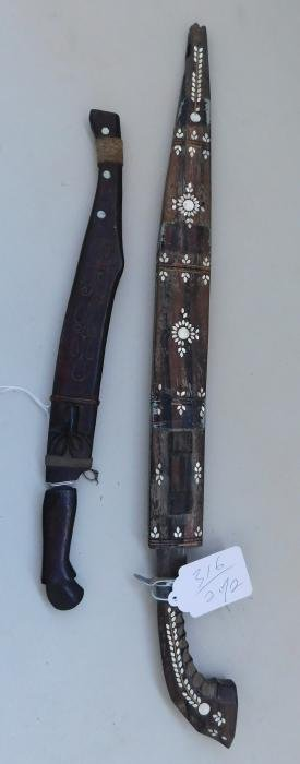 2 Philippines Fighting Knives
