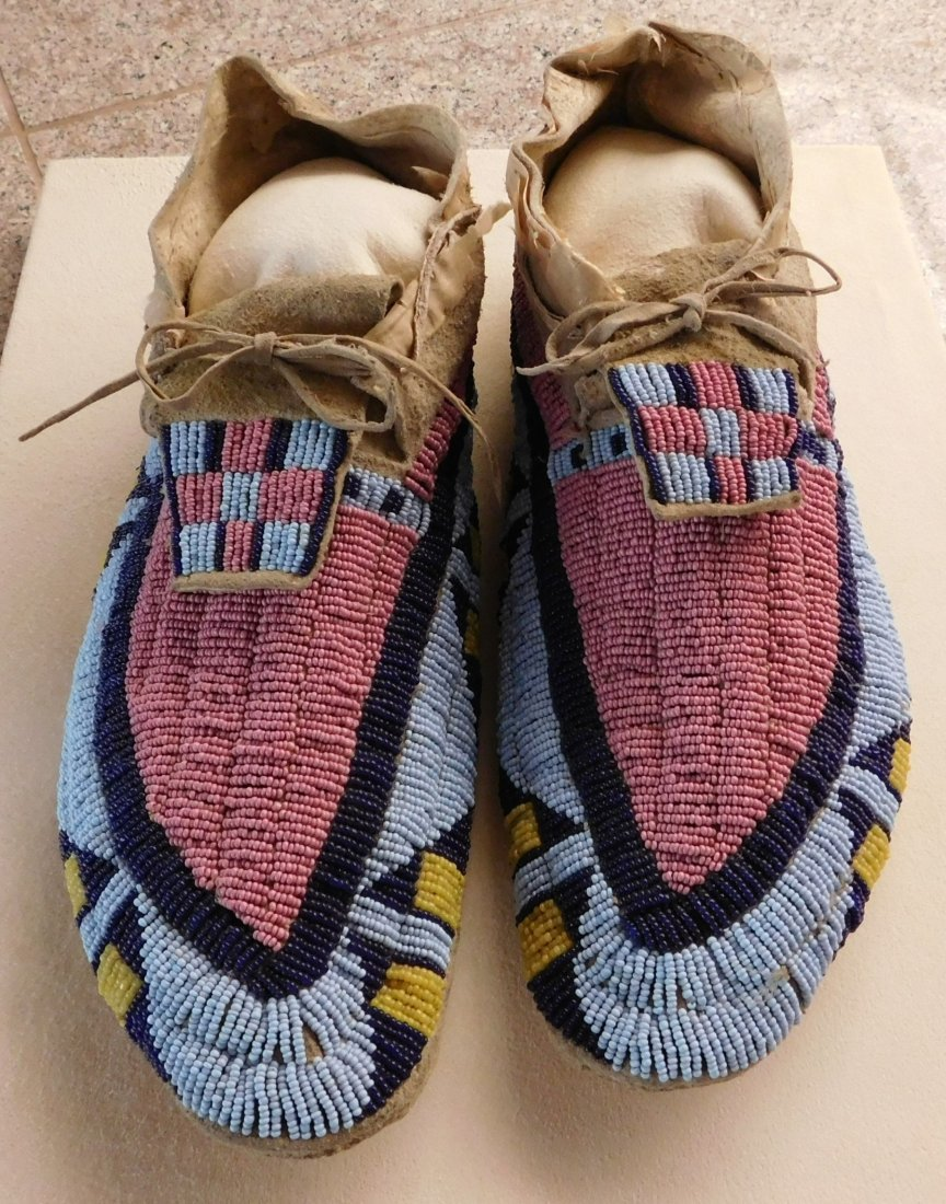 Early Blackfoot Moccasins