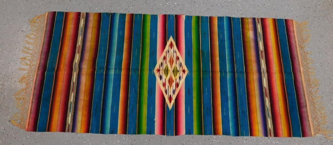 Mexican Saltillo Weaving