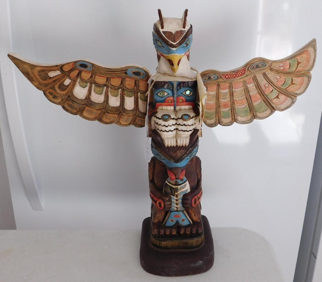 NWC Thunderbird Bear Totem
