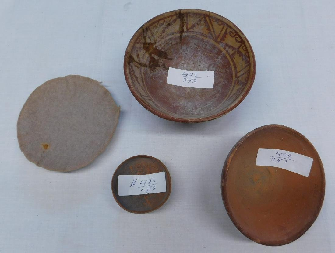 3 Pre-Columbian Bowls
