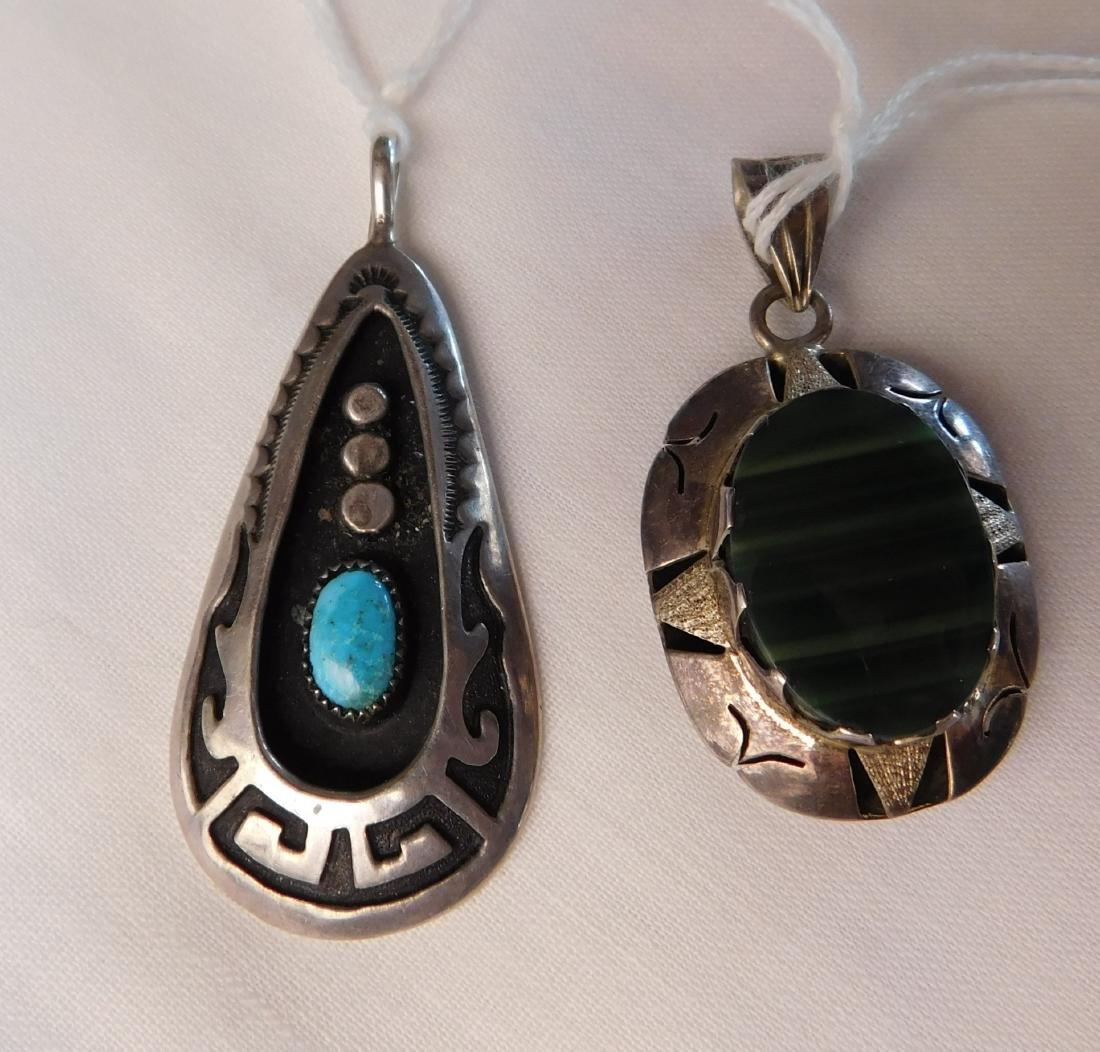 2 Sterling Silver Pendants