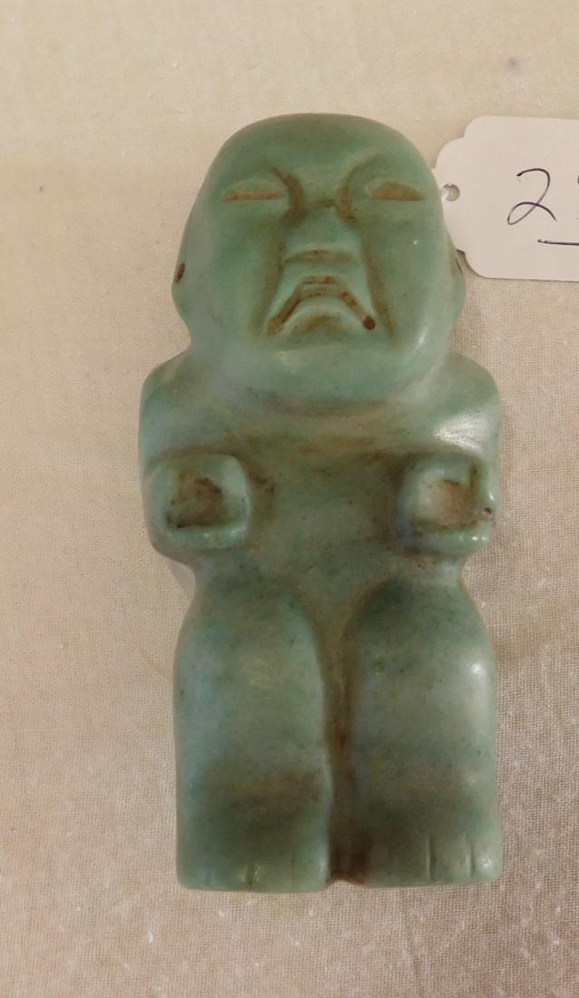 Olmec Jade Man