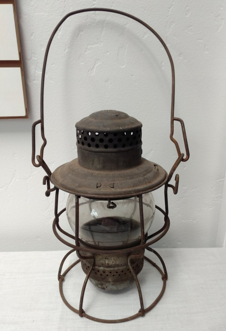 Old Railroad Lantern
