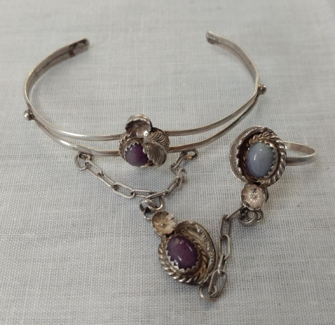 Purple Onyx Slave Bracelet