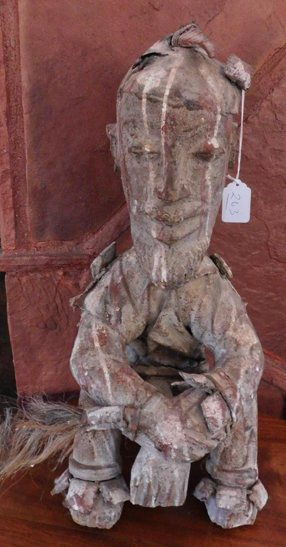 Dogon Male Seated Figure