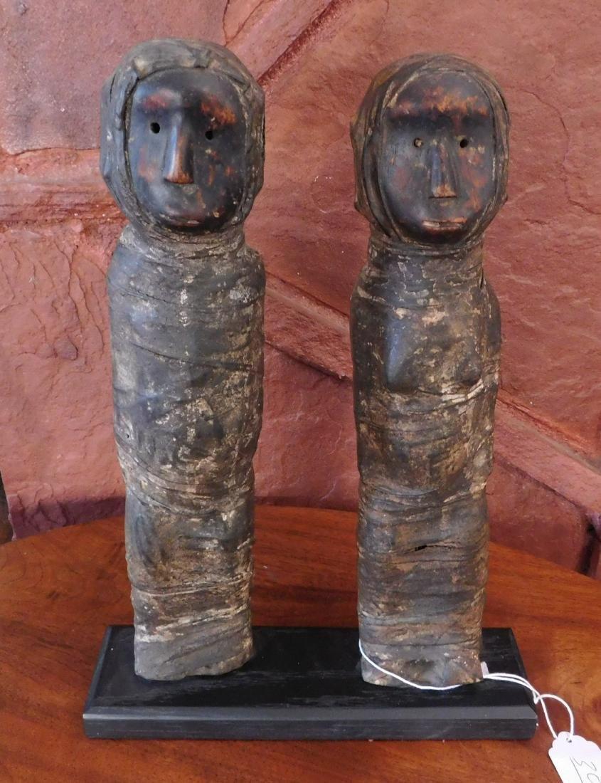 Bassa Couple Carving