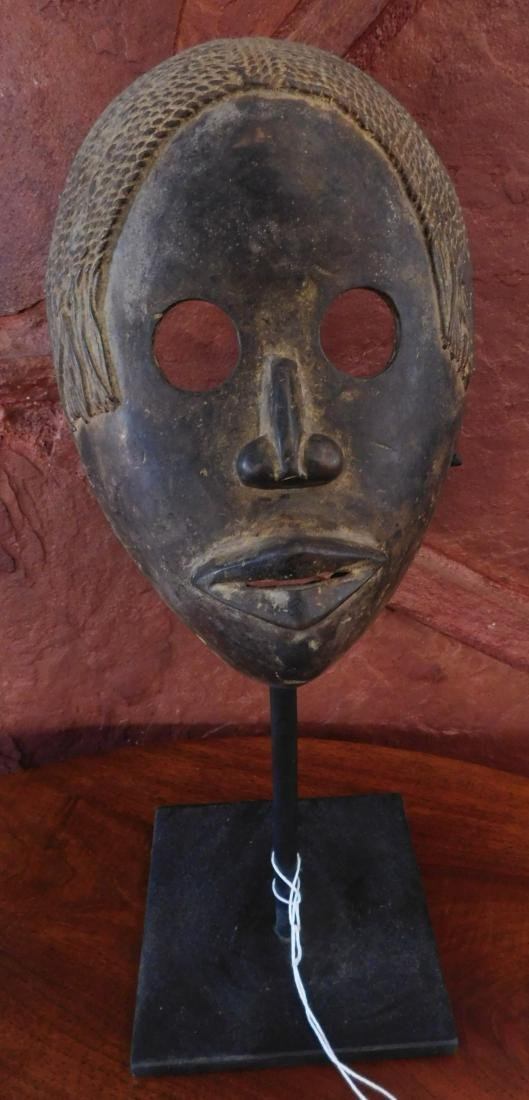 Dan Bronze Mask w/Stand