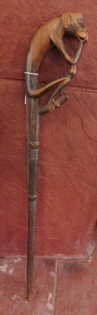 Baule Monkey Cane
