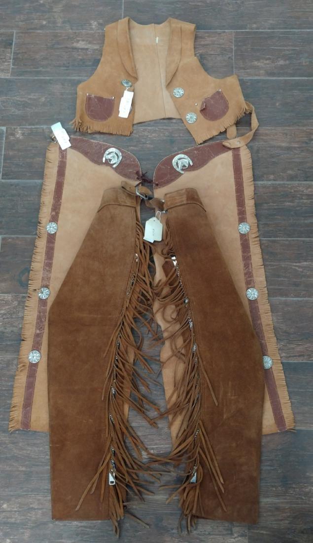 Child Chaps & Vest Set