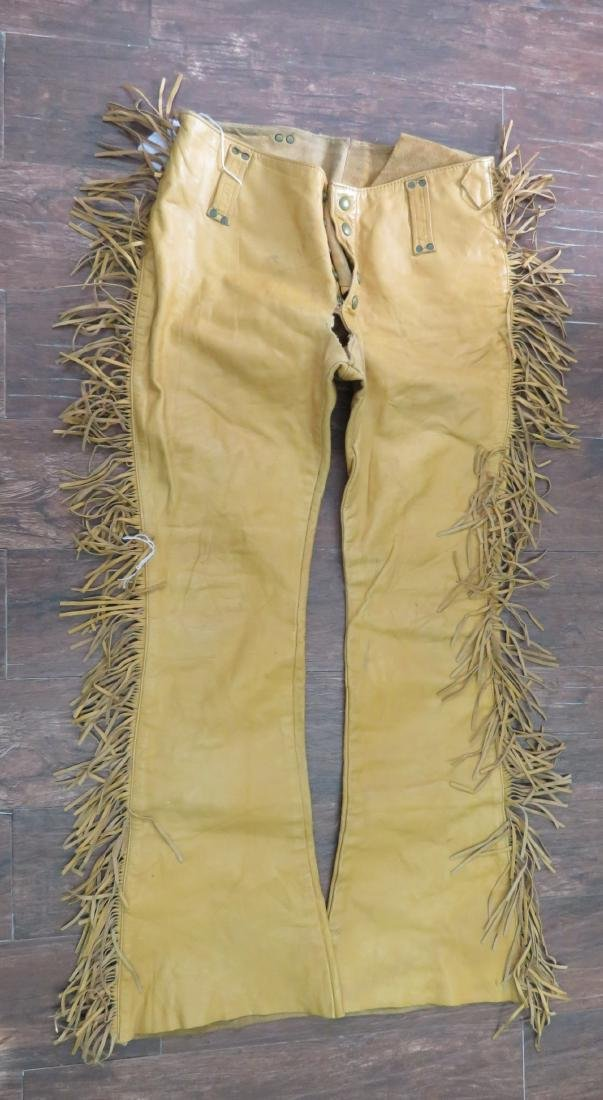 Buckskin Fringed Pants