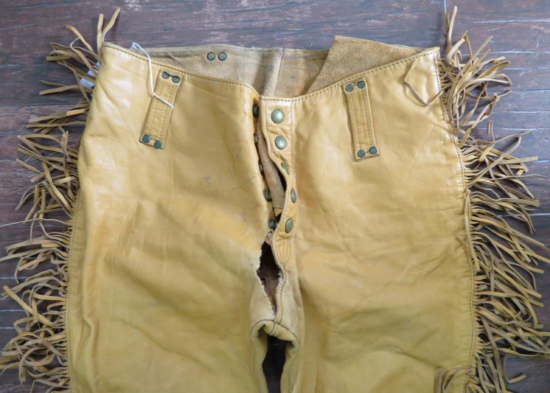 Buckskin Fringed Pants - 2
