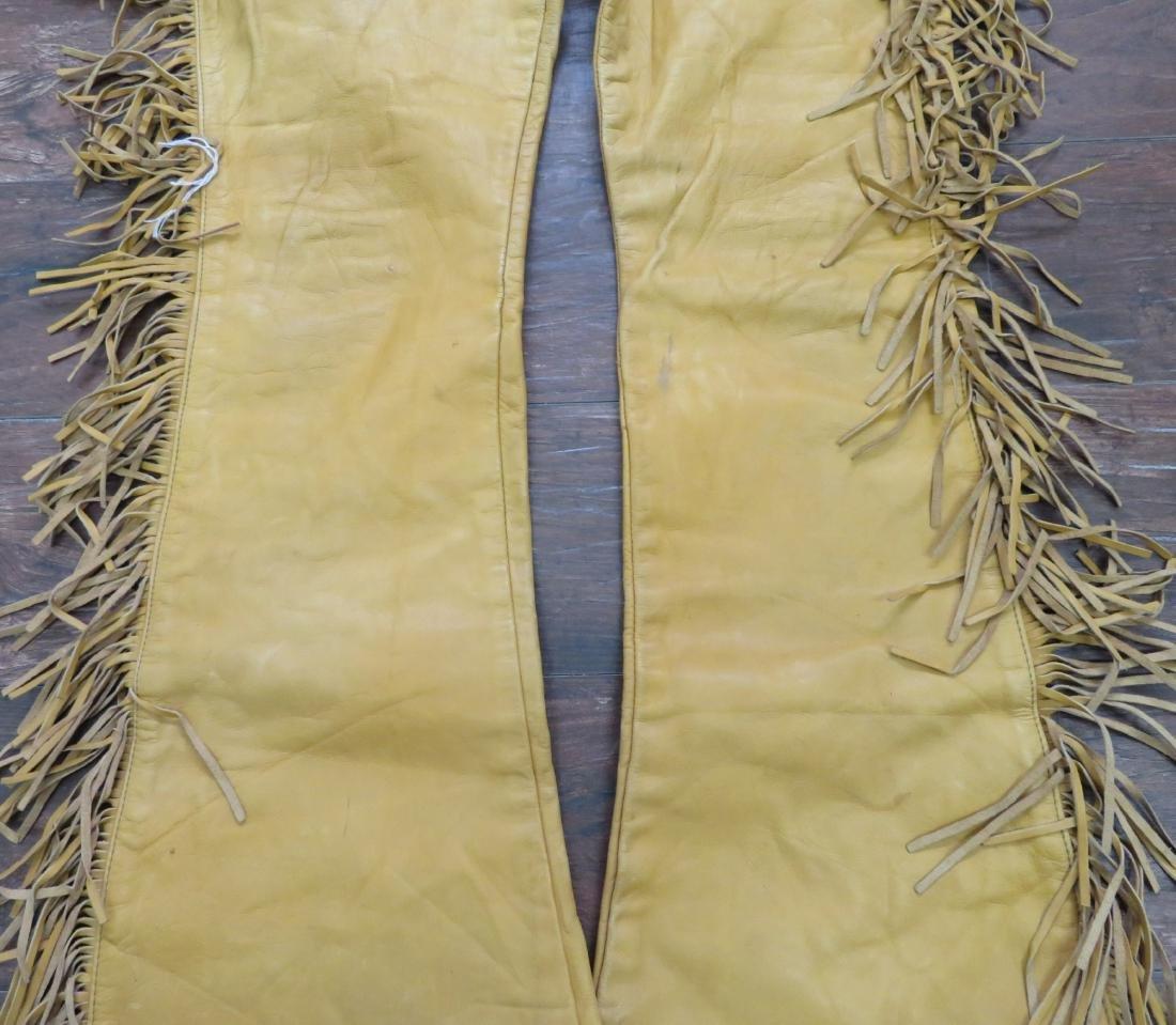 Buckskin Fringed Pants - 4
