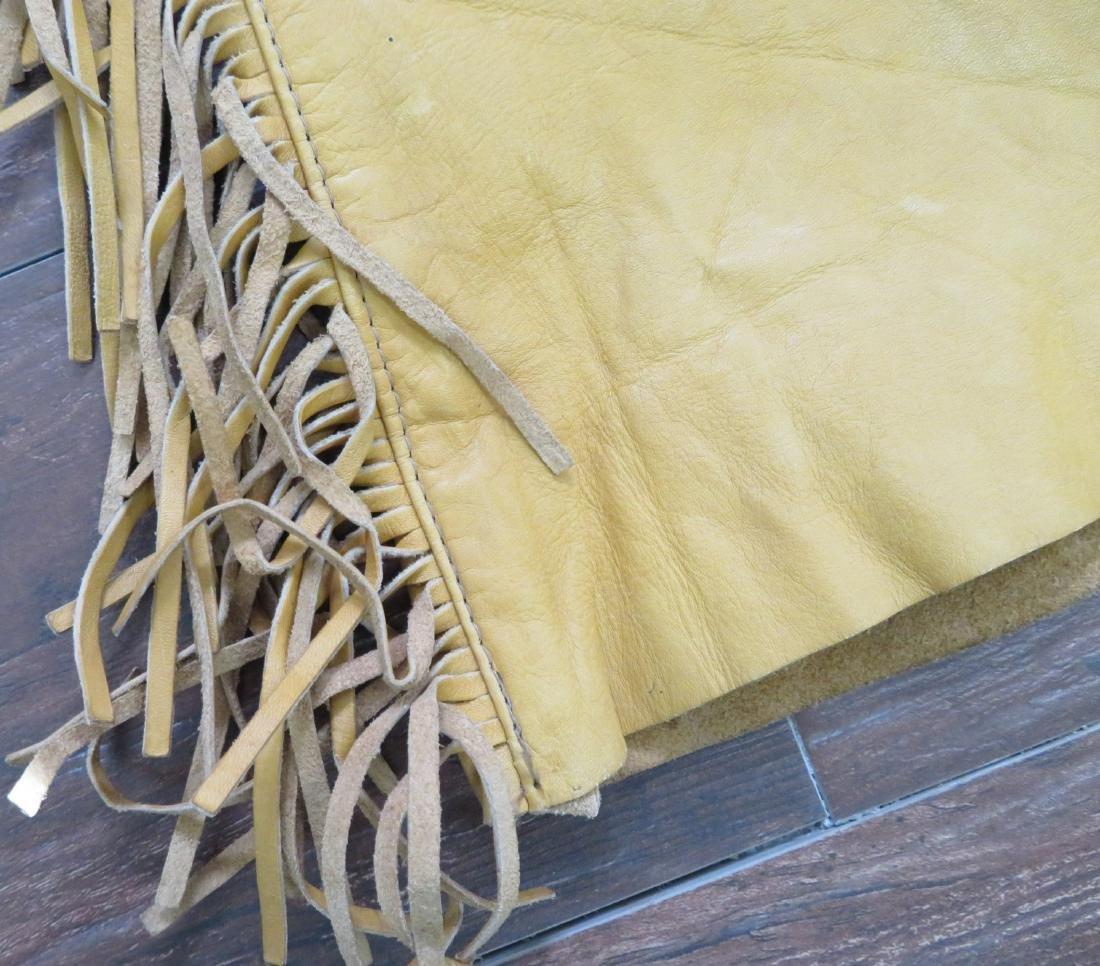 Buckskin Fringed Pants - 5