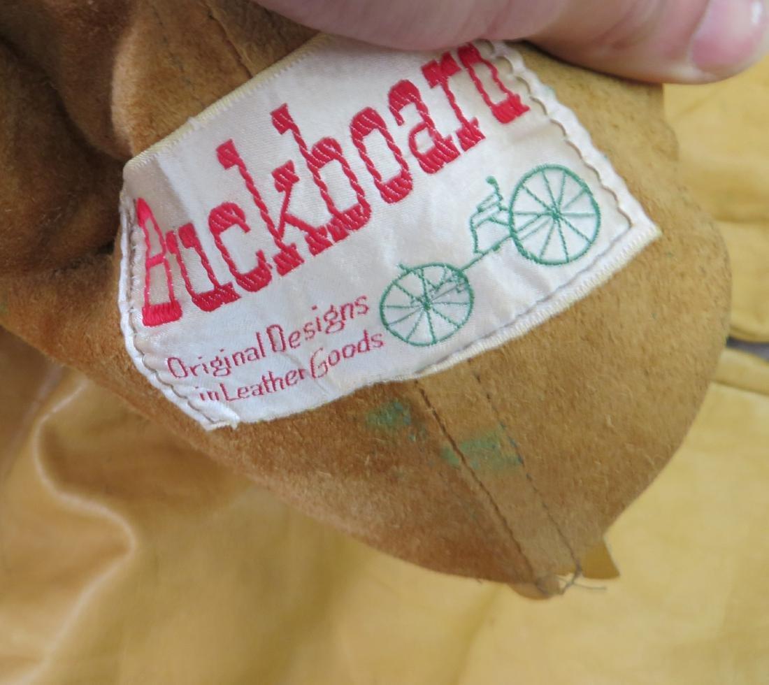 Buckskin Fringed Pants - 7