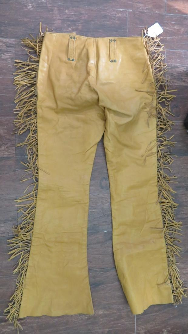 Buckskin Fringed Pants - 8