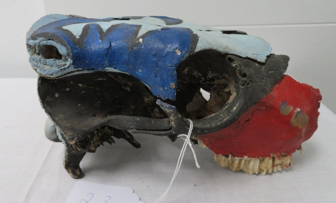 Cow Skull Trail Marker - 3