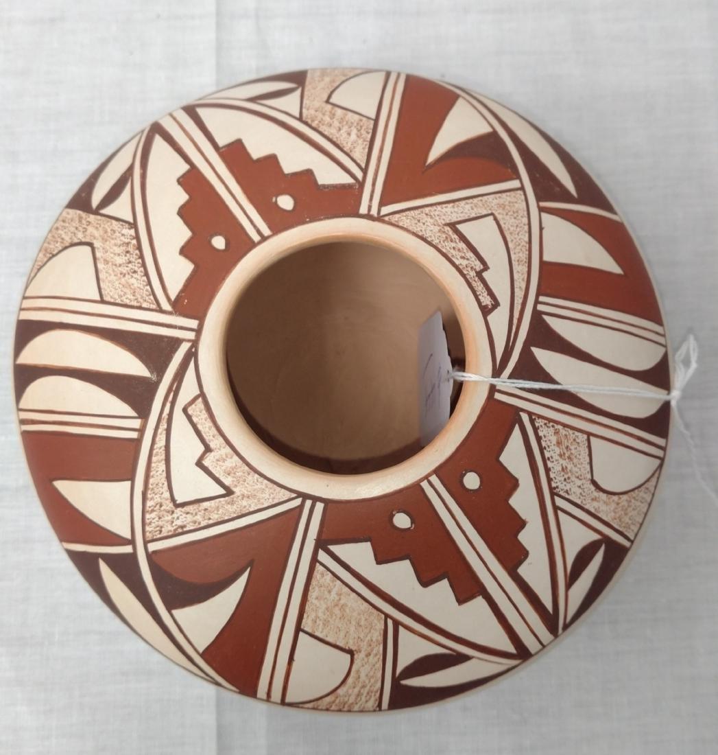 Hopi Frog Woman Pot - 2