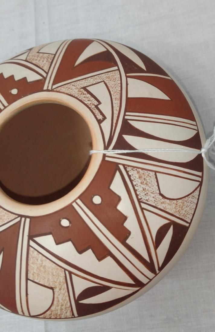Hopi Frog Woman Pot - 4