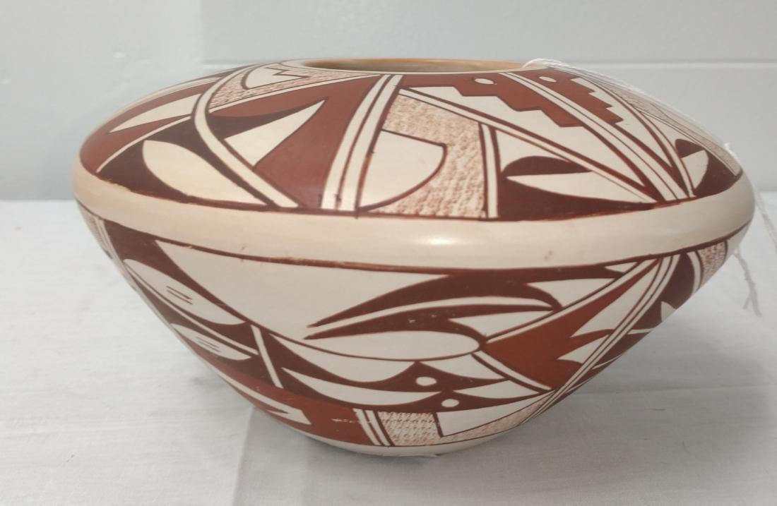 Hopi Frog Woman Pot - 5