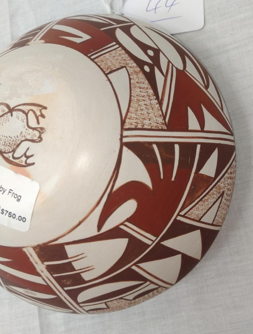 Hopi Frog Woman Pot - 8