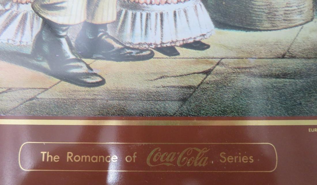 Black Memorabilia Coca-Cola Tray - 6