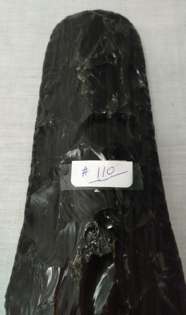 Large Obsidian Blade - 4